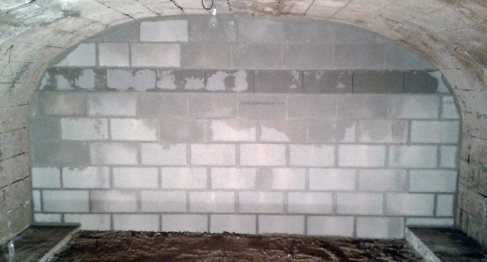 réalisation d'un mur en parpaings