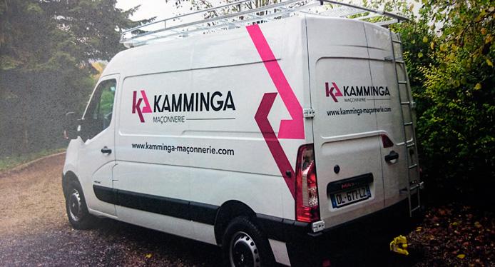 utilitaire entreprise kamminga